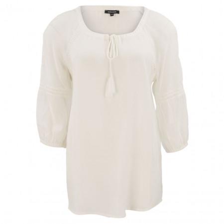 SALE % | More&More | Bluse - Comfort Fit - 3/4-Arm | Weiß online im Shop bei meinfischer.de kaufen