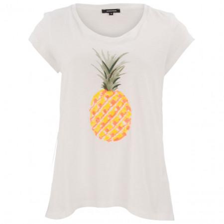 SALE % | More&More | T-Shirt - Comfort Fit - Pailletten-Print | Weiß online im Shop bei meinfischer.de kaufen