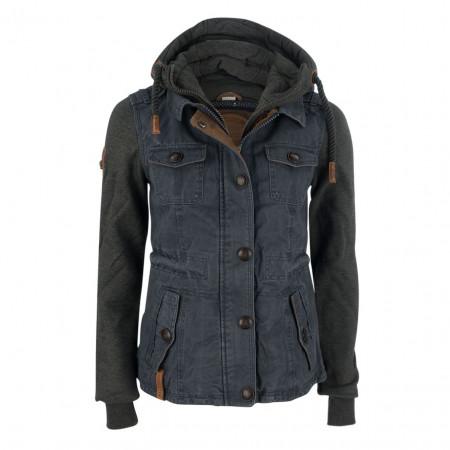 SALE % | Naketano | Jacke - Regular Fit - Kapuze | Blau online im Shop bei meinfischer.de kaufen