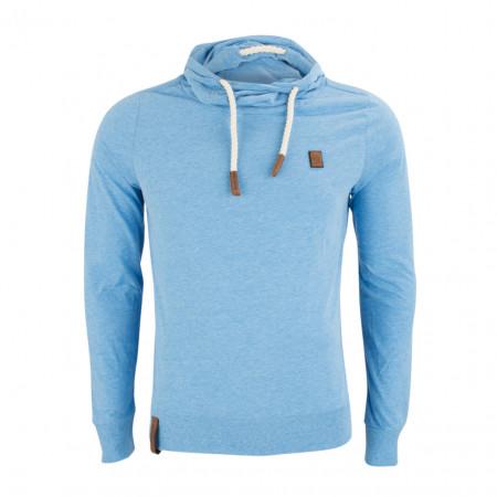 SALE % | Boss Casual | Longsleeve - Regular Fit - Kapuze | Blau online im Shop bei meinfischer.de kaufen