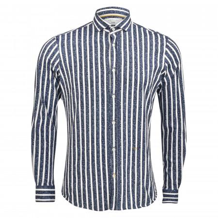 SALE % | New in Town | Freizeithemd - Regular Fit - Haikragen | Blau online im Shop bei meinfischer.de kaufen