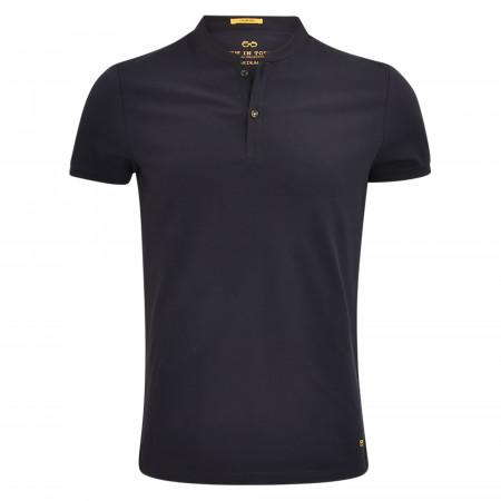 SALE % | New in Town | Poloshirt - Regular Fit - Stehkragen | Blau online im Shop bei meinfischer.de kaufen