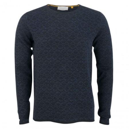 SALE % | New in Town | Pullover - Regular Fit - Print | Blau online im Shop bei meinfischer.de kaufen