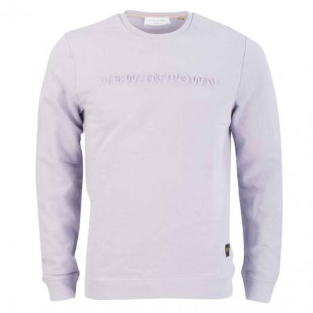 SALE % | New in Town | Sweater - Regular Fit -  Wording | Lila online im Shop bei meinfischer.de kaufen