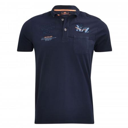 SALE % | New Zealand Auckland | Poloshirt - Regular Fit - Tapanui | Blau online im Shop bei meinfischer.de kaufen