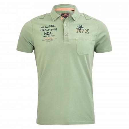 SALE % | New Zealand Auckland | Poloshirt - Regular Fit - Tapanui | Grün online im Shop bei meinfischer.de kaufen