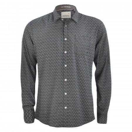 SALE % | No Excess | Freizeithemd - Regular Fit - Kentkragen | Blau online im Shop bei meinfischer.de kaufen