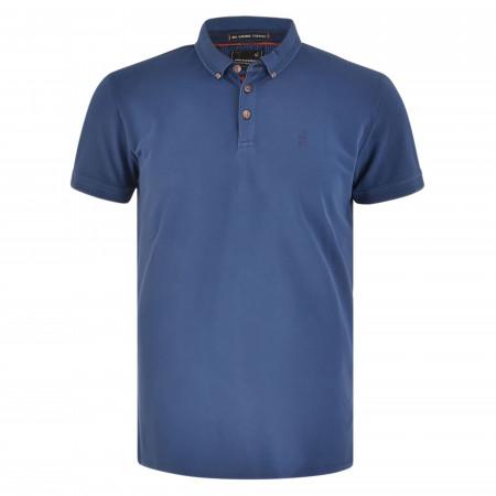 SALE % | No Excess | Poloshirt - Regular Fit - Button Down | Blau online im Shop bei meinfischer.de kaufen