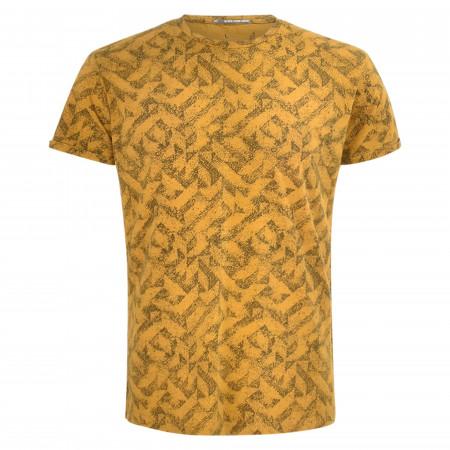 SALE % | No Excess | T-Shirt - Regular Fit - Crewneck | Gelb online im Shop bei meinfischer.de kaufen