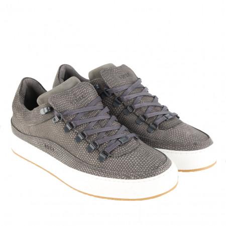 SALE % | Nubikk | Sneaker - Julien Miele lizard - Leder | Grau online im Shop bei meinfischer.de kaufen