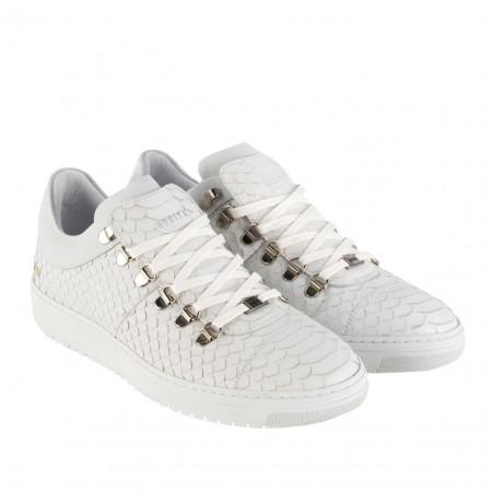 SALE % | Boss Casual | Sneaker -  YeYe Classic Python - Leder | Weiß online im Shop bei meinfischer.de kaufen