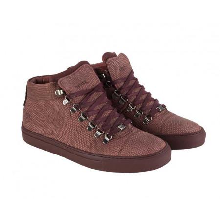 SALE % | Boss Casual | Midcut-Sneaker - Leder | Rot online im Shop bei meinfischer.de kaufen