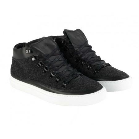 SALE % | Boss Casual | Midcut-Sneaker - Leder | Schwarz online im Shop bei meinfischer.de kaufen