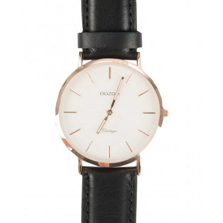 SALE % | Boss Casual | Uhr mit Lederarmband | Schwarz online im Shop bei meinfischer.de kaufen