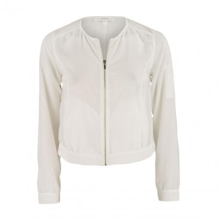 SALE %   Opus   Jacke - Josie - Regular Fit   Weiß online im Shop bei meinfischer.de kaufen