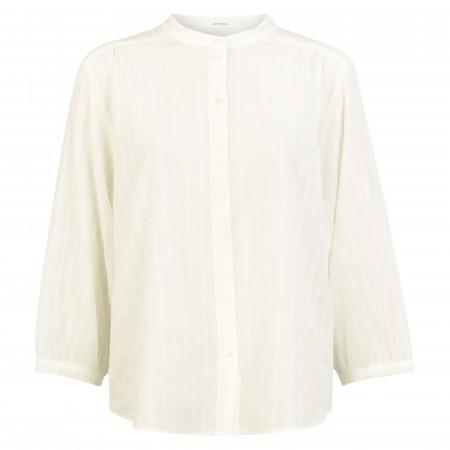 SALE % | Opus | Bluse - Fimana dobby SP - oversized | Weiß online im Shop bei meinfischer.de kaufen