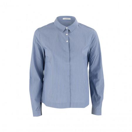 SALE % | Boss Casual | Hemdbluse - Fulba stripe - Regular Fit | Blau online im Shop bei meinfischer.de kaufen