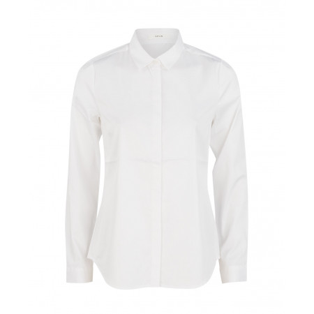 SALE % | Opus | Klassische Hemdbluse | Weiß online im Shop bei meinfischer.de kaufen