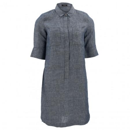SALE % | Opus | Kleid - Willmar - Leinen | Blau online im Shop bei meinfischer.de kaufen