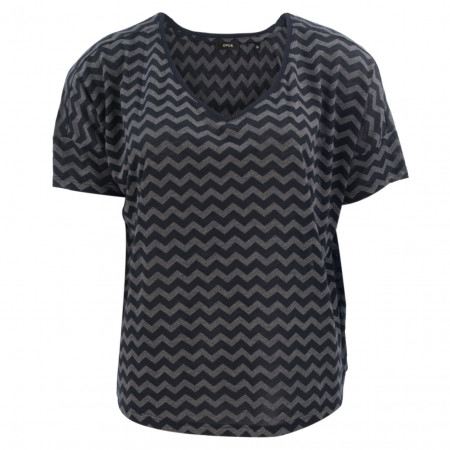 SALE % | Opus | Jerseyshirt - Santo - Comfort Fit | Blau online im Shop bei meinfischer.de kaufen