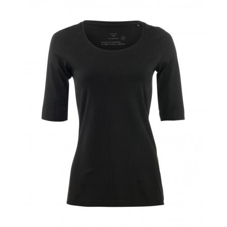 SALE % | Opus | Shirt Sanika Basic | Schwarz online im Shop bei meinfischer.de kaufen