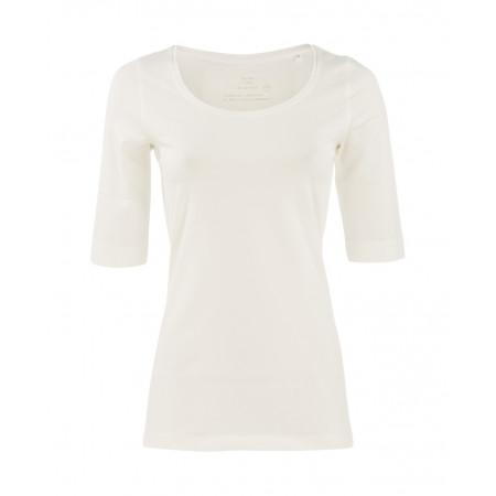 SALE % | Opus | Shirt Sanika Basic | Weiß online im Shop bei meinfischer.de kaufen