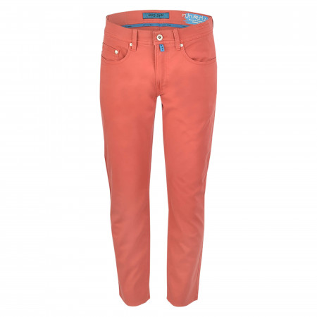 SALE %   Pierre Cardin Jeanswear   Hose - Straight Fit - Future-Flex   Rot online im Shop bei meinfischer.de kaufen