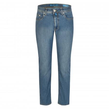 SALE % | Pierre Cardin Jeanswear | Jeans - Regular Fit - Lyon | Blau online im Shop bei meinfischer.de kaufen