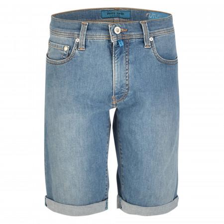 SALE % | Pierre Cardin Jeanswear | Shorts - Regular Fit - Future Flex | Blau online im Shop bei meinfischer.de kaufen