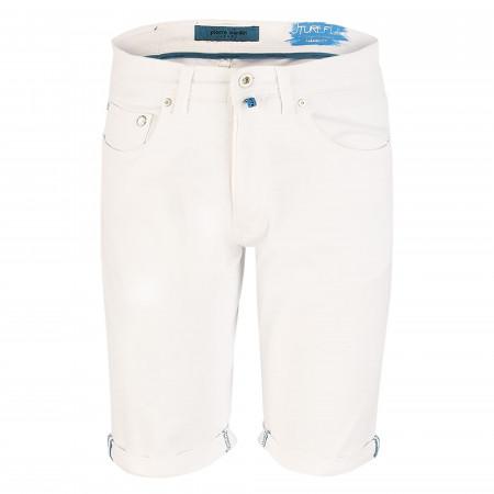 SALE %   Pierre Cardin Jeanswear   Shorts - Regular Fit - Future Flex   Weiß online im Shop bei meinfischer.de kaufen