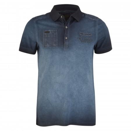 SALE % | PME LEGEND | Poloshirt  - Regular Fit - Pique | Blau online im Shop bei meinfischer.de kaufen