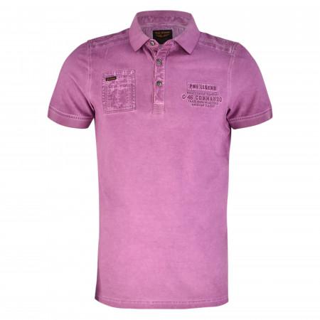 SALE %   PME LEGEND   Poloshirt  - Regular Fit - Pique   Lila online im Shop bei meinfischer.de kaufen