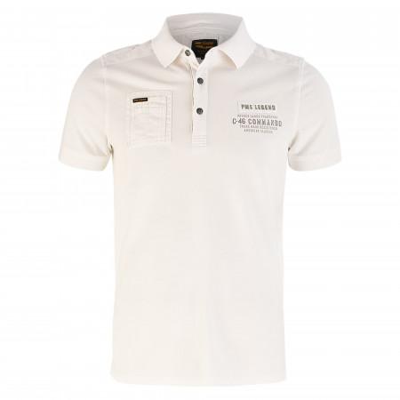 SALE % | PME LEGEND | Poloshirt  - Regular Fit - Pique | Weiß online im Shop bei meinfischer.de kaufen