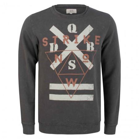 SALE % | Q/S designed by | Sweater - Regular Fit - Print | Grau online im Shop bei meinfischer.de kaufen