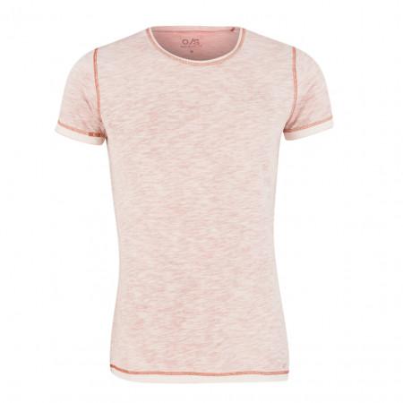 SALE % | Q/S designed by | T-Shirt - Regular Fit - Melange-Optik | Rot online im Shop bei meinfischer.de kaufen
