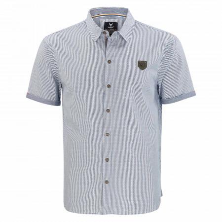 SALE % | QUESTO SAVAGE | Freizeithemd - Regular fit - Stripes | Blau online im Shop bei meinfischer.de kaufen