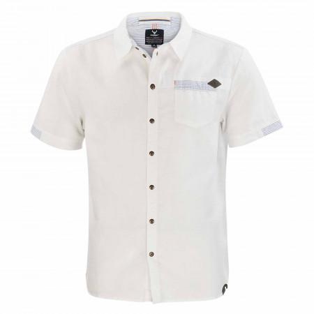 SALE % | s'questo | Freizeithemd - Regular Fit  - Leinen | Weiß online im Shop bei meinfischer.de kaufen