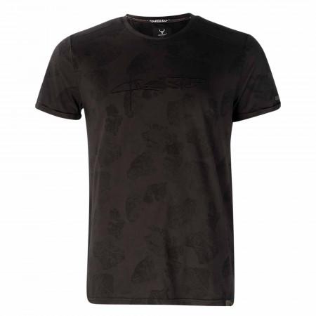 SALE % | QUESTO SAVAGE | T-Shirt - Regular Fit - Crewneck | Schwarz online im Shop bei meinfischer.de kaufen