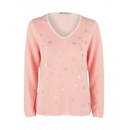 SALE % | Rabe | Pullover - Regular Fit - Paillettendekor | Rosa online im Shop bei meinfischer.de kaufen