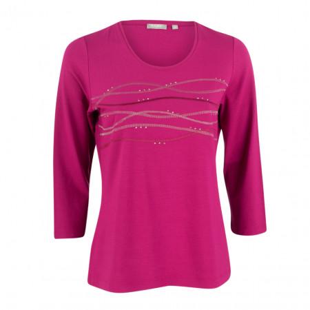 SALE %   Rabe   Jerseyshirt - Regular Fit - 3/4-Arm   Pink online im Shop bei meinfischer.de kaufen