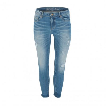 SALE % | Boss Casual | Jeans - Jane 7/8 - Slim Fit | Blau online im Shop bei meinfischer.de kaufen