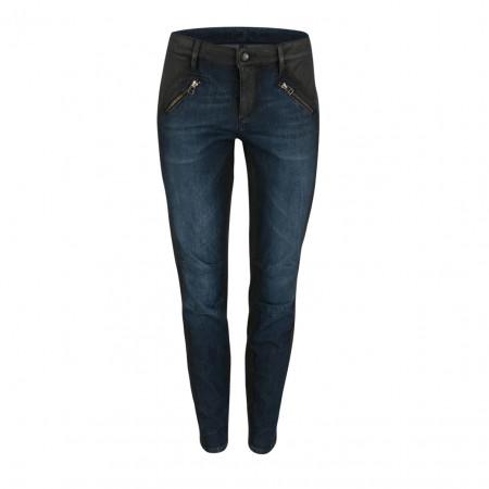 SALE % | Raffaello Rossi | Jeans - Slim Fit - Zipper | Blau online im Shop bei meinfischer.de kaufen