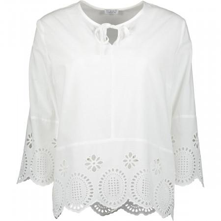 SALE %   re.draft   Bluse - oversized - Häkel-Optik   Weiß online im Shop bei meinfischer.de kaufen