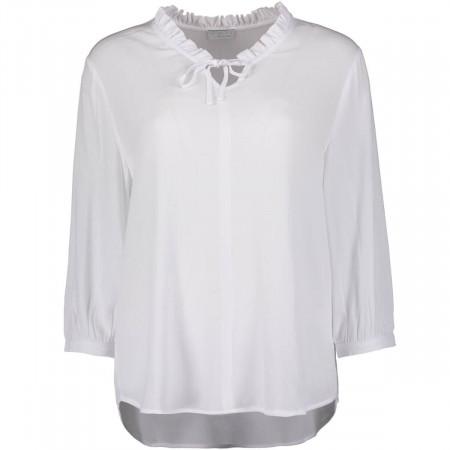 SALE % | re.draft | Bluse - Regular Fit - 3/4-Arm | Weiß online im Shop bei meinfischer.de kaufen