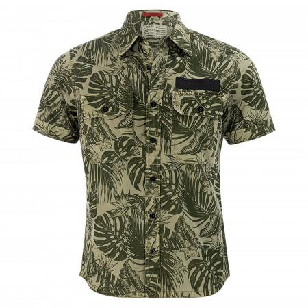 SALE % | Replay | Freizeithemd - Regular Fit - Kentkragen | Grün online im Shop bei meinfischer.de kaufen