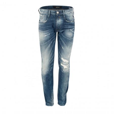 SALE % | Boss Casual | Jeans - Anbass M914 - Slim Fit | Blau online im Shop bei meinfischer.de kaufen