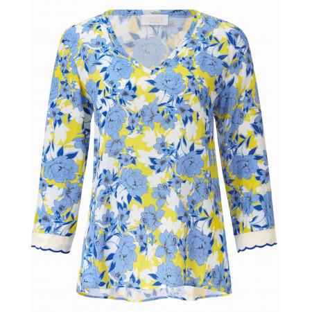 SALE % | Rich&Royal | Bluse - Regular Fit - Print | Blau online im Shop bei meinfischer.de kaufen