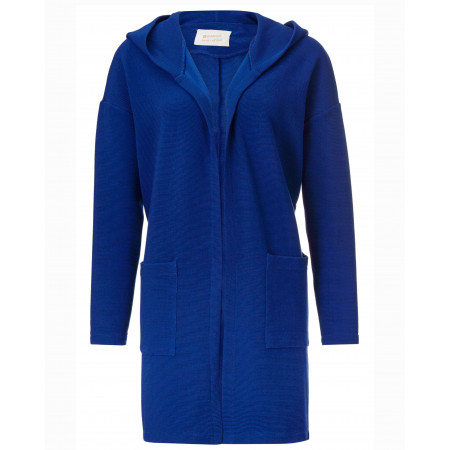 SALE % | Rich&Royal | Cardigan - Regular Fit - Ripp-Optik | Blau online im Shop bei meinfischer.de kaufen