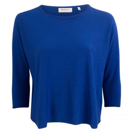 SALE %   Rich&Royal   Pullover - Boxy Fit - Crewneck   Blau online im Shop bei meinfischer.de kaufen