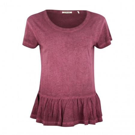 SALE %   Rich&Royal   T-Shirt - Regular Fit - Schößchen   Lila online im Shop bei meinfischer.de kaufen